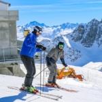 Skiweekend Lufftechnik AG 2019 Skifahrer